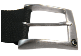 Shiny Silver Classic Buckle