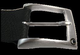 Блестящая серебряная классическая пряжка