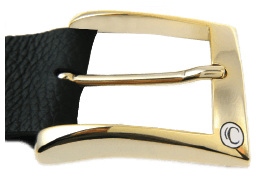 Shiny Gold Classic Buckle